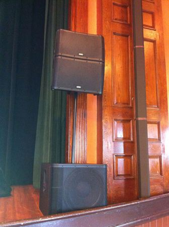 QSC KLA12s Loudspeakers on QSC KW 181 Subwoofer