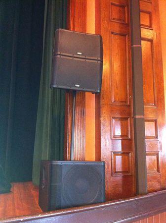 QSC KLA12s Loudspeakers on QSC KW 181 Subwoofer