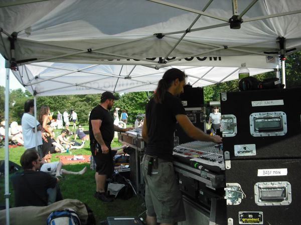 image Dual FOH Monitors at JP Music Fest--